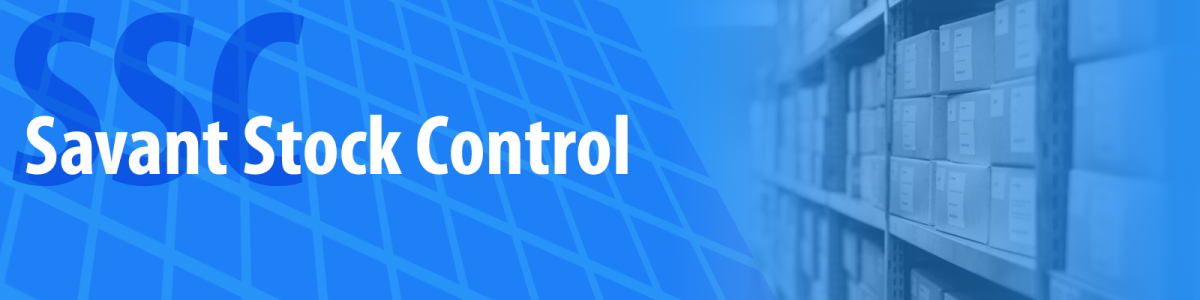 Savant Stock Control System